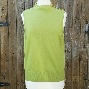 Camille La Vie Sweaters - Cashmere Blend Sleeveless  Sweater