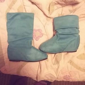 Link Other - Teal boots