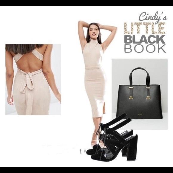 ASOS Dresses - 🙌🏼 Nude Multiway Midi Dress 🙌🏼