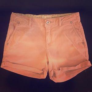 Corduroy blush shorts