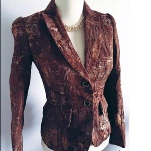Antonio Melani Textured Suit Jacket