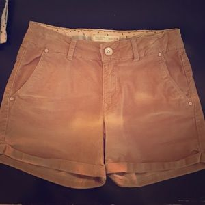 Never worn corduroy shorts