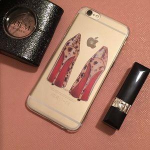 Christian Louboutin Accessories - Fashion Girl Iphone 6/6 Plus Case 💃🏼👠👠