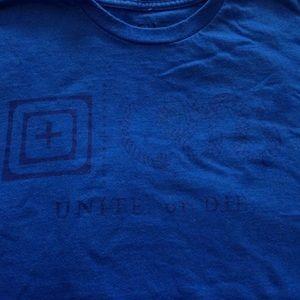 5.11 Tactical Other - Blue 5.11 men's shirt