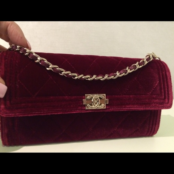 3e0fb2c480af40 CHANEL Bags | Velvet Wallet On A Chain Woc Bag | Poshmark