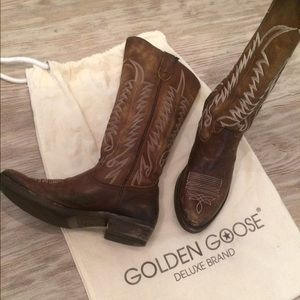 Golden Goose Shoes - Golden Goose Western Boots