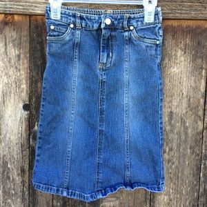 Children's Place Other - Girls Jean Skirt
