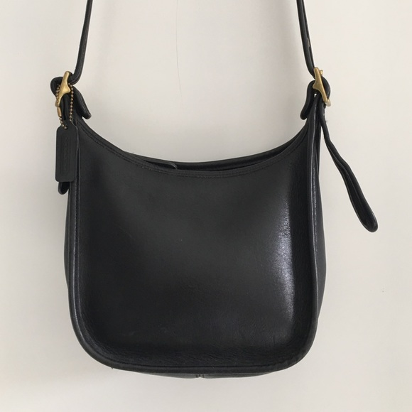 18a5b7d48999f Coach Bags | Vintage Legacy Black Leather Crossbody Bag | Poshmark
