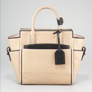 Reed Krakoff Handbags - Reed Krakoff atlantique Medium tote nude/black