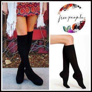 Free People Accessories - FREE PEOPLE Tall Cozy Socks