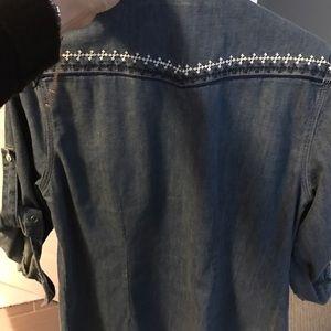 Superdry Tops - Superdry denim shirt