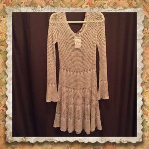 Crochet Free People dress