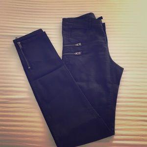H&M Skinny Slim Zipper Pant...
