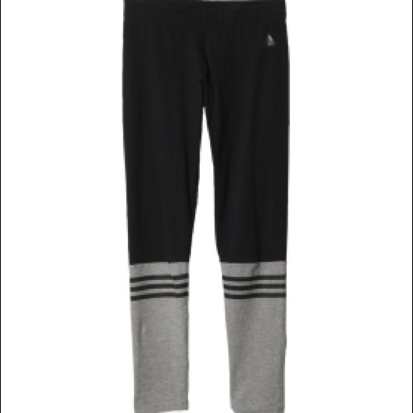 8666c1655ed0a Adidas Pants   3stripe Crew Leggings   Poshmark