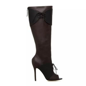 GX by Gwen Stefani Shoes - GX Gwen Stefani brown and black women's boots