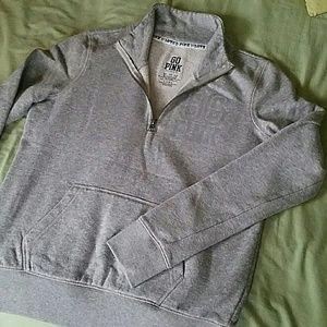 Victoria's Secret PINK Half-Zip Sweater