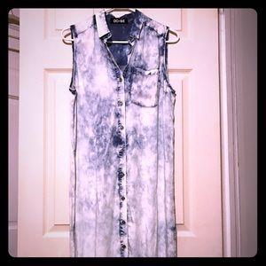 Do & Be Dresses & Skirts - Acid Wash Dress/Duster