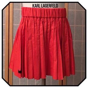 Karl Lagerfeld Dresses & Skirts - Karl Lagerfeld Saatchi Faux Leather Skirt