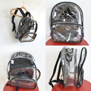 09e07da34f Adidas Bags - Adidas Clear Backpack