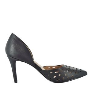 """Restricted Shoes - RESTRICTED 3 1/2"""" LASER CUTOUT PUMP"""