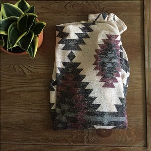 Sweaters - Tribal Open Front Cardigan
