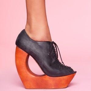 Jeffrey Campbell wedge heels