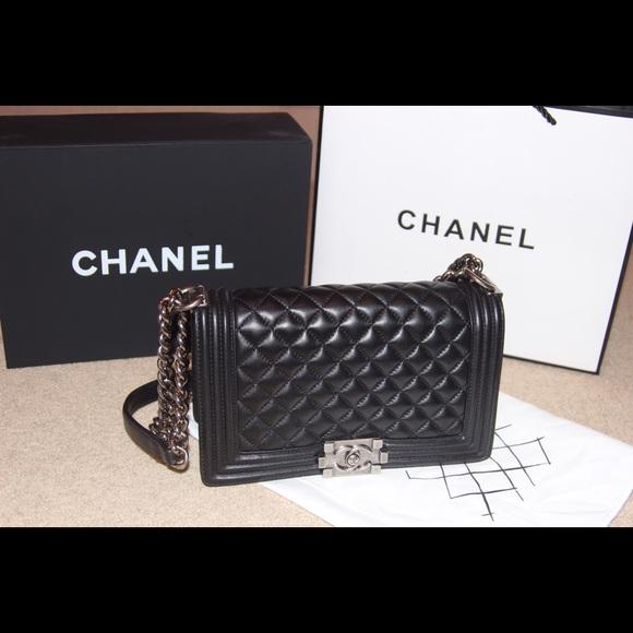 c5403590e900 CHANEL Bags | Le Boy Bag | Poshmark