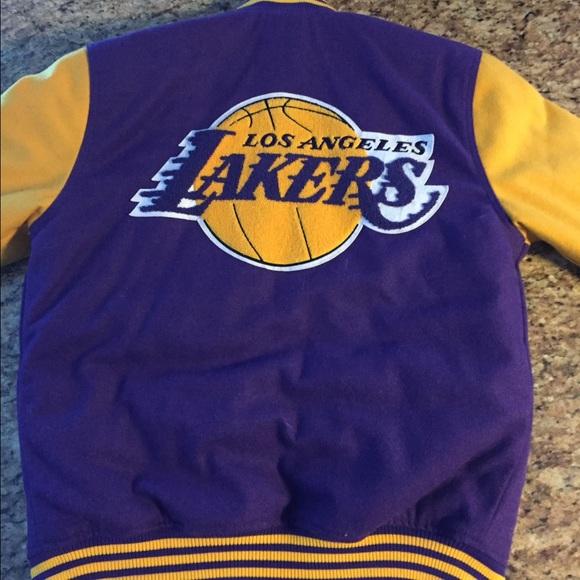da12d11c1af Men s LA Lakers varsity jacket. M 5887b725eaf03027b21a384f