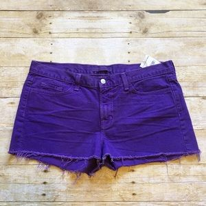 Violet J Brand cut off shorts, size 31, NWT