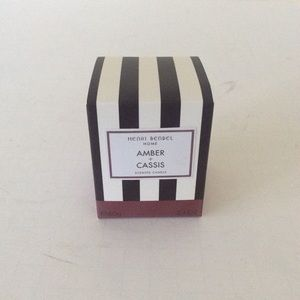 henri bendel Accessories - Henri bendel amber & cassis candle new
