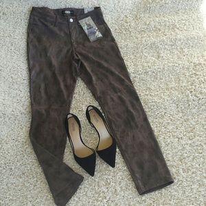 Rewash Pants - Rewash Brown Pants Jeans Skinny Casual 7