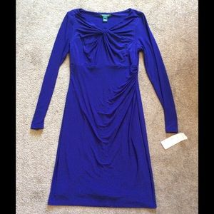 Lauren Ralph Lauren Dresses & Skirts - NWT Ralph Lauren Purple Longsleeve Dress