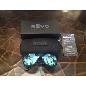 Revo Other - NEW  REVO Huddie Polarized Sunglasses W/ Case