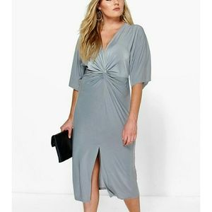 Boohoo Plus Dresses & Skirts - Boohoo Plus Wrap Dress