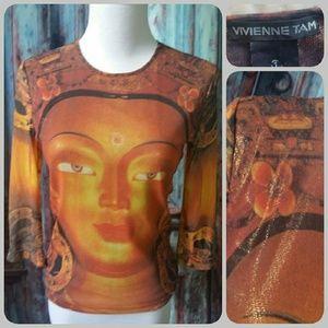 Vivienne Tam Tops - VIVIENNE TAM Buddha top