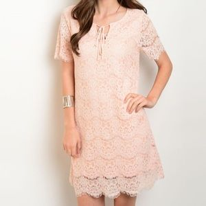 Very J Dresses & Skirts - *SALE* New beautiful blush Easter dress