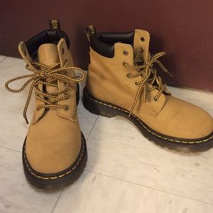 Dr.martens tan suede (like timbs!)