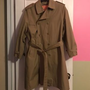 Vintage Removable Lining Trench Coat