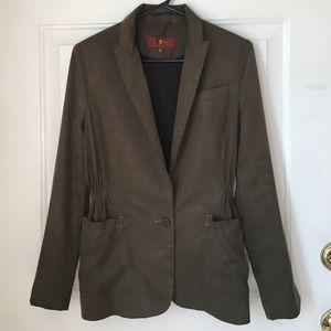7 for all Mankind Single Button Blazer Jacket