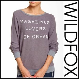 Wildfox Tops - ❗1-HOUR SALE❗WILDFOX PULLOVER
