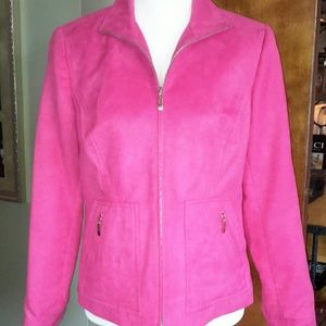 Evan Picone  Jackets & Blazers - Evan Picone pink jacket lined zip front PRICE DROP