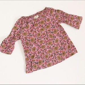 Peek Other - Peek purple dress with sunflower print