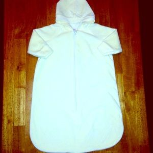 Little Me Other - Light Yellow Super Soft Hooded Sleep Sack 💛FIRM❗️