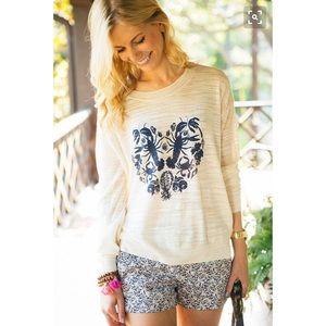 Madewell Tops - Madewell Lobster Heart Sweater