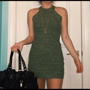 Dresses & Skirts - Olive Sweater Dress