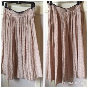 Geren Ford Dresses & Skirts - Blush Geren Ford pleated midi skirt NWT