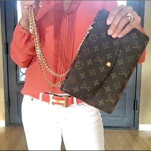 Louis Vuitton Bags - 🛑SOLD🛑💯LOUIS VUITTON DOUBLE RABAT SHOULDER BAG