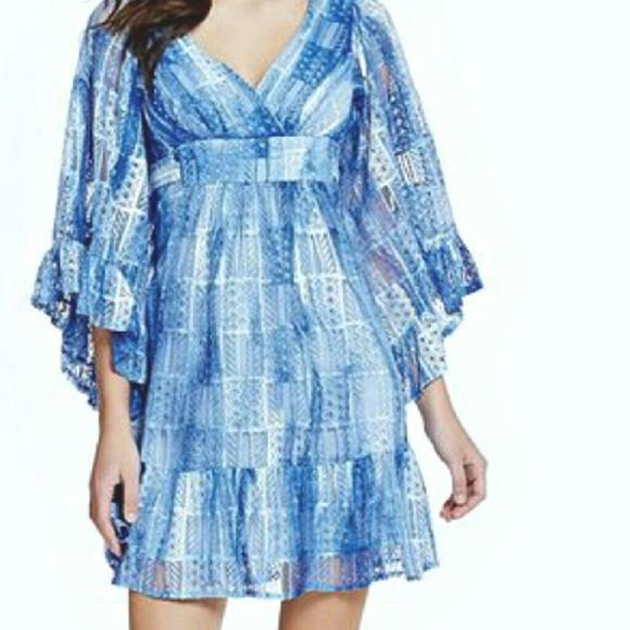 Betsey Johnson Dresses & Skirts - Betsey Johnson Bambi lace patch kimono Dress