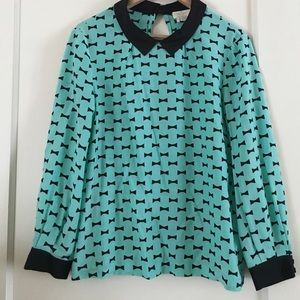 Kate Spade Bow blouse