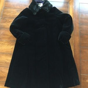 Helena Other - STUNNING HELENA VELVET GIRL'S COAT. EUC. 10